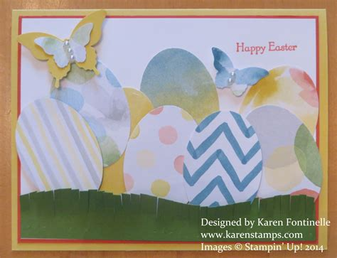 simple easter cards to make an easy easter card for you to make sting with