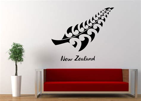 wall stickers nz fern leaf nz wall decal wall stickers wall graphics