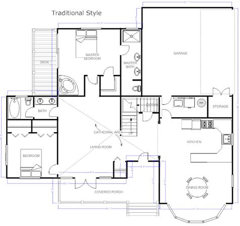 make a house plan floor plans learn how to design and plan floor plans