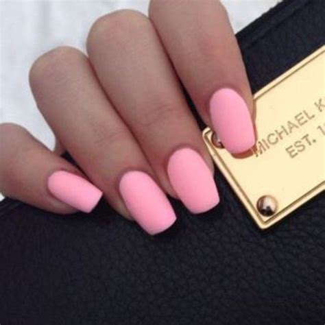 matte colored nails best 25 pink nails ideas on pink nail opi