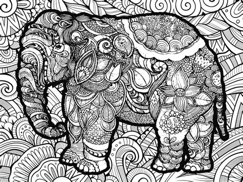 Color Of Elephants by Elephant Coloring Puzzle Puzzlewarehouse