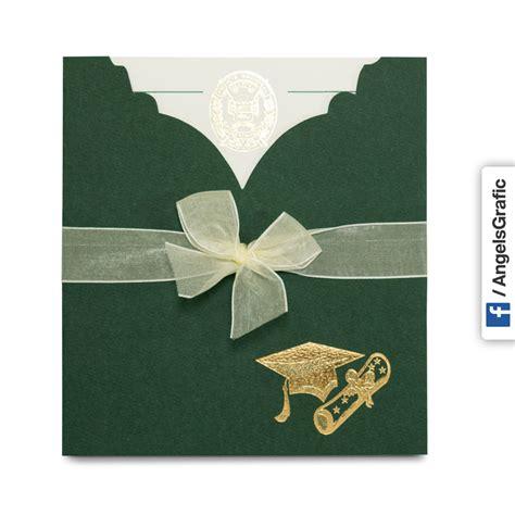 moldes tarjetas de graduacion tarjeta de invitaci 243 n para graduaci 243 n to 213 angels