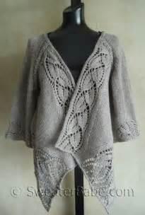 Drape Cardigan Sweater I Knit And Tell Sweaterbabe S Dramatic Lace Wrap Cardigan