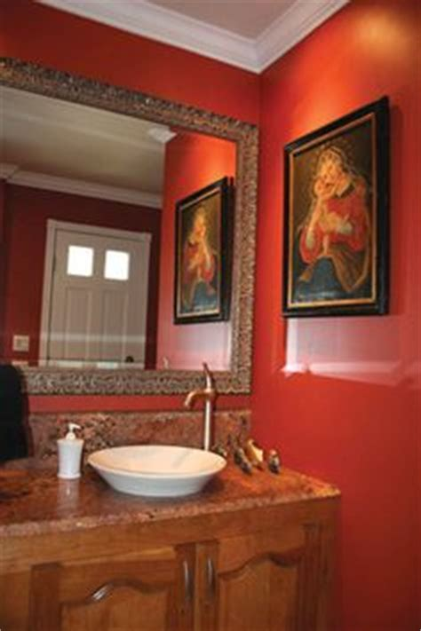 orange powder room 1000 images about macla gallery bathroom 2 remodel on