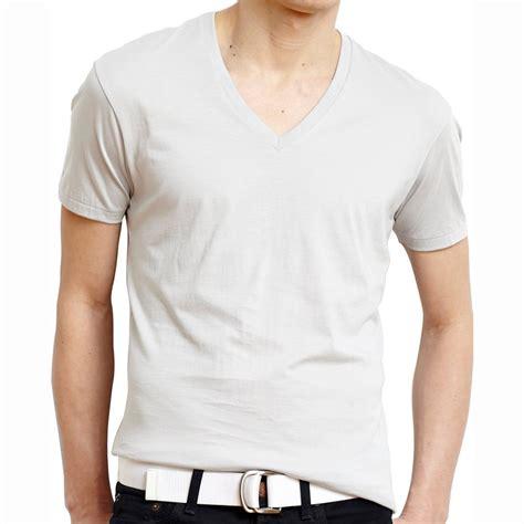 high quality cotton wholesale high quality cotton plain white v neck t shirts