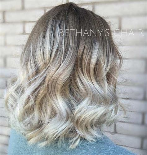 ombre balayage color melt blonde highlights long bob balayage 10 handpicked ideas to discover in hair and
