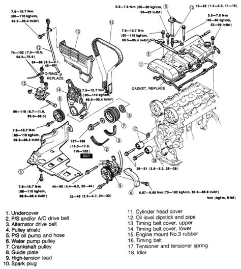 does a 2003 mazda mpv a timing belt or a timing chain