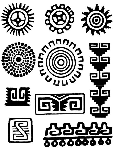 imagenes simbolos aztecas s 237 mbolos indigenas maya search and galleries