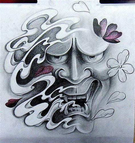 tattoo oriental historia best 25 hannya mask tattoo ideas on pinterest oni