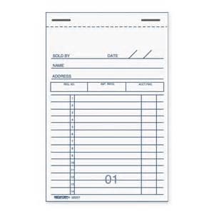 Wraparound Desk Rediform Sales Receipt Book Quickship Com