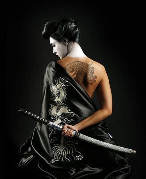 tattoo geisha katana can she be my girl lol geisha graceful image 37782