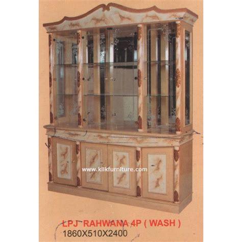 Harga Wash lemari pajangan 4 pintu lpj 4p rahwana wash harga termurah