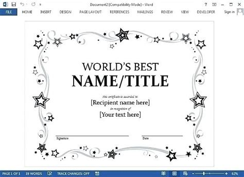 Certificate Template Google Docs 2018 World Of Reference Gift Certificate Template Docs