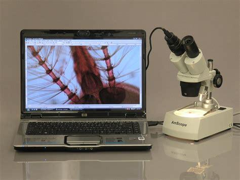 camara para microscopio camara digital usb para microscopio amscope md35 c