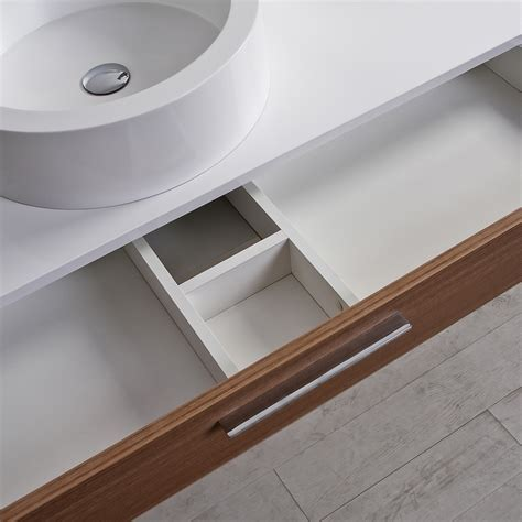 wall drawers unit the edge luxury milano stone bathroom vanity wall