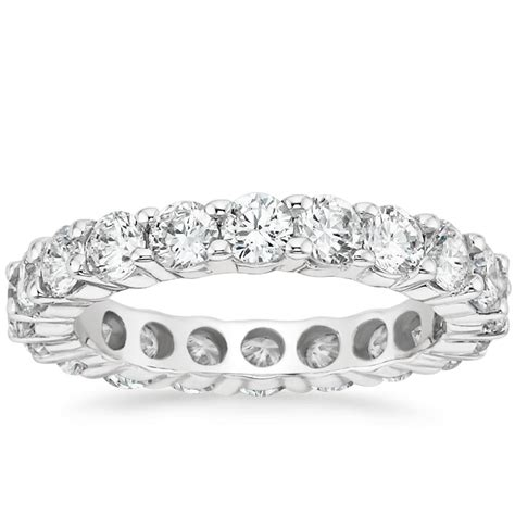 eternity ring 3 ct tw in 18k white gold