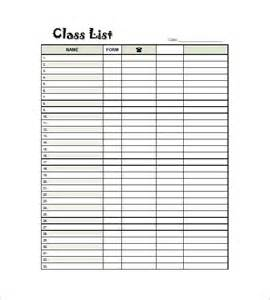 template class class list template 15 free word excel pdf format