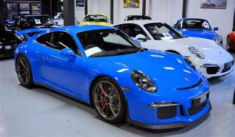 porsche voodoo blue blue colors we