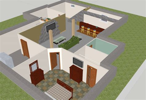 home design software sketchup sketchup home design entrancing free floorplan software