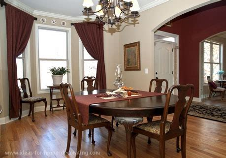 dining room curtains and dining room drapes