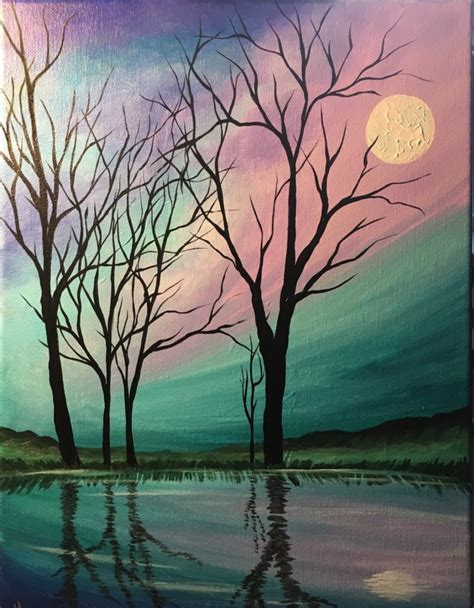 muse paintbar in gaithersburg canvas painting class at muse paintbar gaithersburg