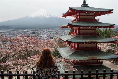 scenic places  japan polkadot passport