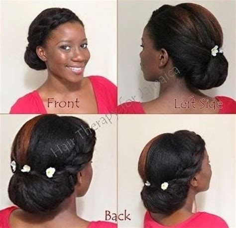 brilliant bun hairstyles for african americans with regard african american hair bun hairstyle immodell net