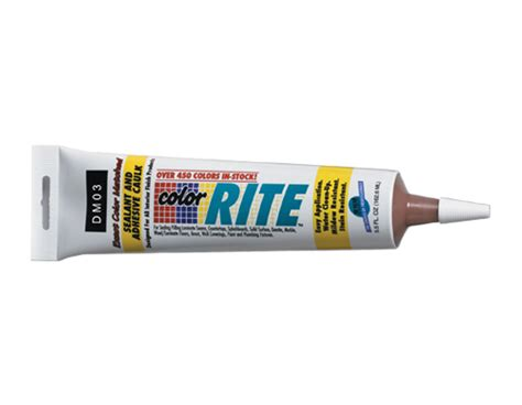 color rite caulk a m supply corporation products fillers colorrite