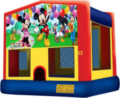 Jumper Mickey mickey and friends jumper mickey mouse bounce house rental