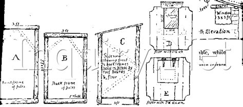 outhouse floor plans woodcraft outhouse plans how to build an out house