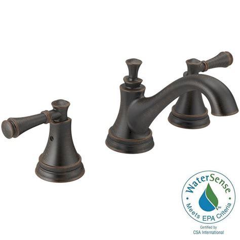Delta Silverton Faucet by Delta Silverton 8 In Widespread 2 Handle Bathroom Faucet