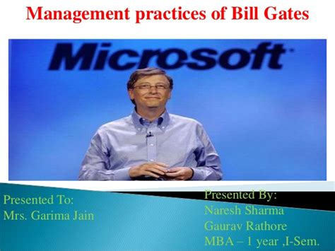encyclopedia of world biography bill gates bill gates