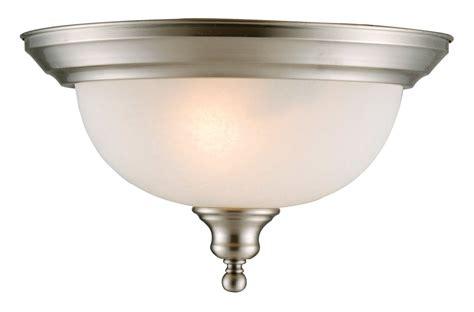 Ambient Lighting Fixtures Design House 510297 Satin Nickel 13 Quot D Bristol Traditional Classic 2 Light Ambient Lighting