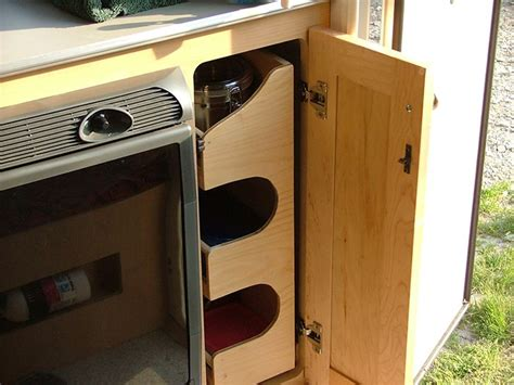Rv Pantry Storage by Five Best Interior T B Trailer Modifications By Owners