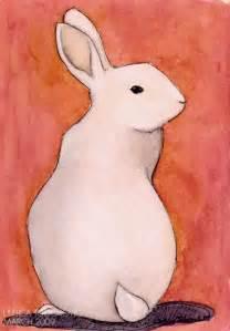 Rabbit art from last week ljubica todorovic