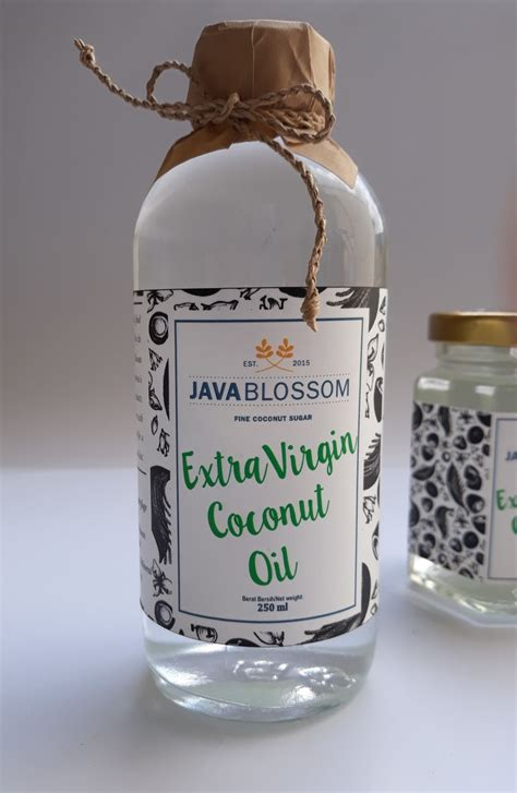 virgin coconut oil jual vco diproses organik kualitas export extra virgin coconut oil vco 250 ml java blossom