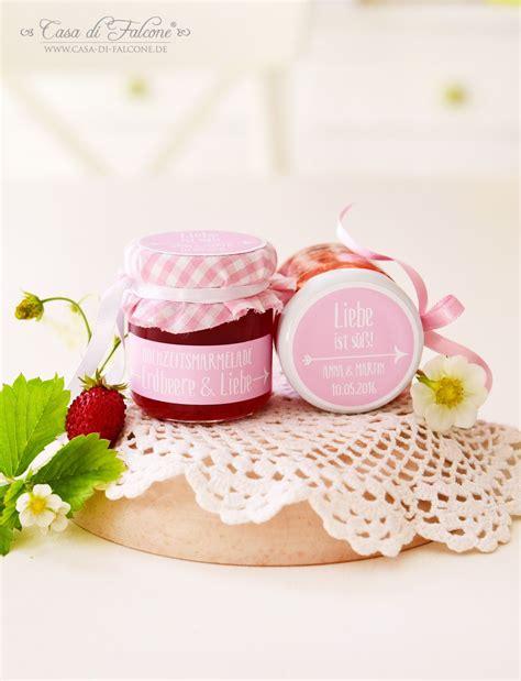 Etiketten Marmelade Gastgeschenk by Individuelle Etiketten F 252 R Hochzeitsmarmelade I