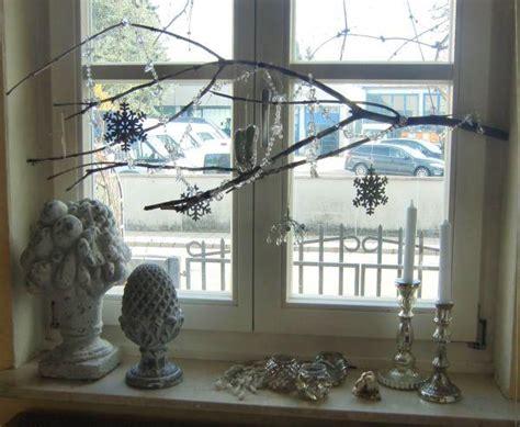 fenster deko nach weihnachten dekorationsideen nach weihnachten
