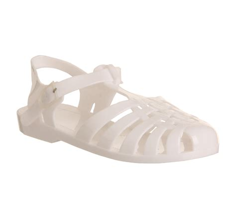 jelly fisherman sandals womens juju fisherman jelly white sandals ebay