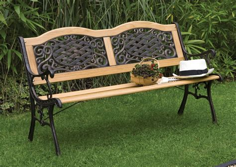 bench outdoor garden benches designs nicez