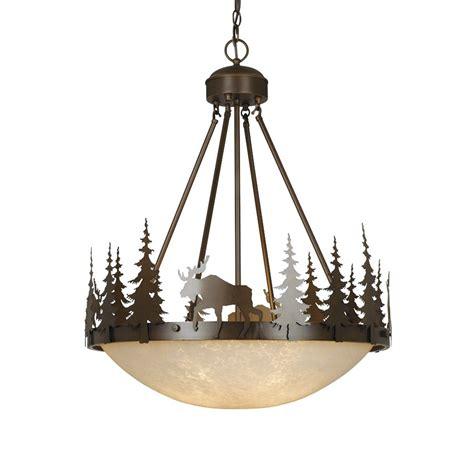 Large Bowl Pendant Light Cascadia Lighting 4 Light Yellowstone Bowl Large Pendant Lowe S Canada