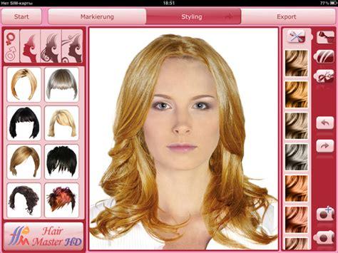 virtual hairstyles app virtuelle frisuren ipad alice blog
