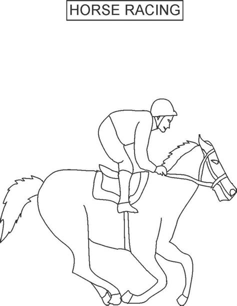 race horse coloring pages horse racing coloring pages az coloring pages