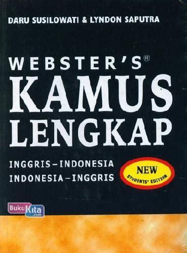 bukukita webster s kamus lengkap inggris indonesia