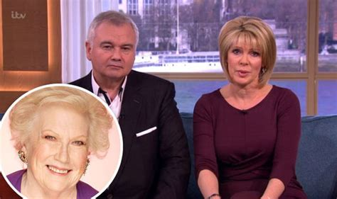 denise richards this morning ruth langsford tearful on this morning after denise