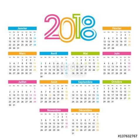 quot calendrier 2018 quot fichier vectoriel libre de droits sur la