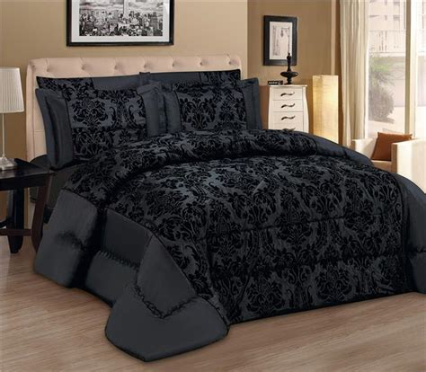 Bedding Sets Black Friday Uk Luxury 3pcs Flock Quilted Bed Spread Bedspread Comforter
