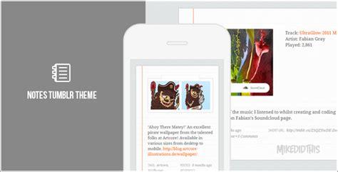 tumblr themes on mobile screen tablet mobile ready tumblr themes responsive