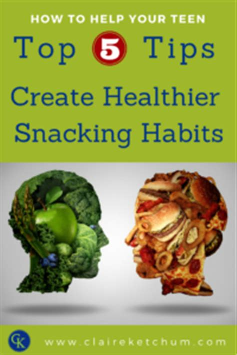 Tips Articles Healthy Snacking Habits by Top 5 Tips To Help Your Create Healthier Snacking