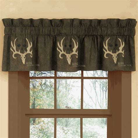 bone collector curtains camouflage curtains bone collector valance camo trading